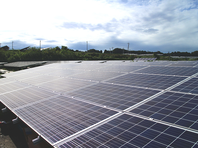 筑西太陽光発電所