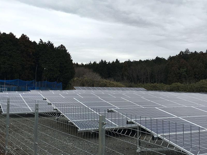 笠間太陽光発電所